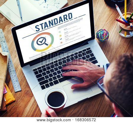 Standard Assurance Warranty Guarantee Concept