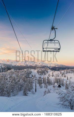 Ski Center Of Vogel-slovenia