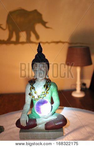 Buddha statue Mudra