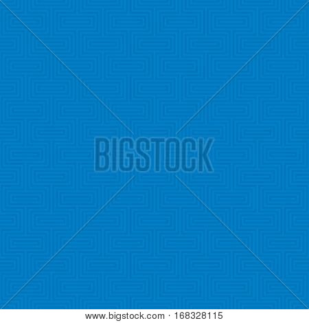 Blue Classic seamless pattern. Neutral tileable linear vector background.