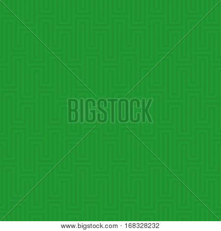 Green Waveform seamless pattern.Neural tileable linear vector background.