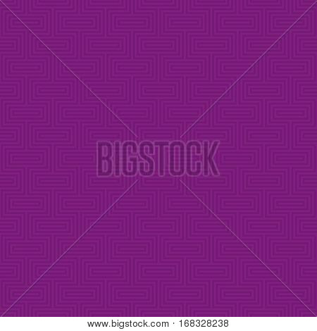 Purple Classic seamless pattern. Neutral tileable linear vector background.