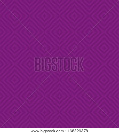 Purple Squares Pixel Art Pattern. Checked Neutral Seamless Pattern for Modern Design in Flat Style. Tileable Geometric Vector Background.