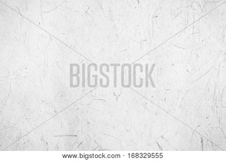White Mulberry paper background or handmade paper texture