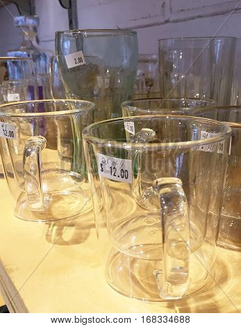Glasses And Cups For Sale