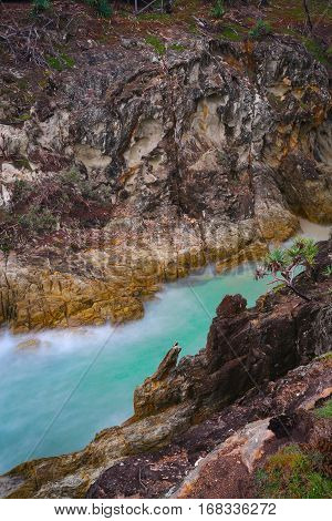 North Gorge Walk on North Stradbroke Island, Queensland, Australia