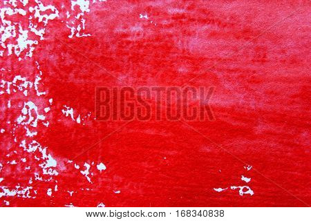 Red and White Watercolour Background 6