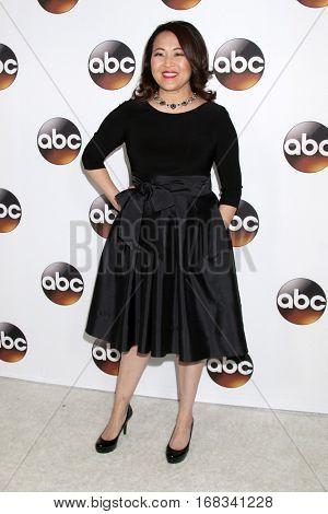 LOS ANGELES - JAN 10:  Suzy Nakamura at the Disney/ABC TV TCA Winter 2017 Party at Langham Hotel on January 10, 2017 in Pasadena, CA