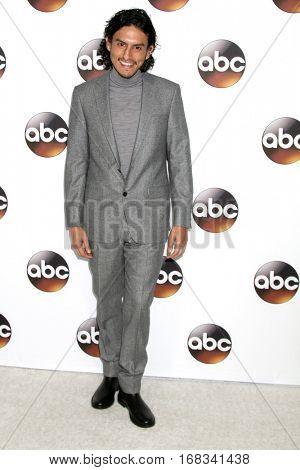 LOS ANGELES - JAN 10:  Richard Cabral at the Disney/ABC TV TCA Winter 2017 Party at Langham Hotel on January 10, 2017 in Pasadena, CA