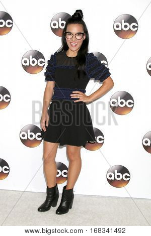 LOS ANGELES - JAN 10:  Ali Wong at the Disney/ABC TV TCA Winter 2017 Party at Langham Hotel on January 10, 2017 in Pasadena, CA