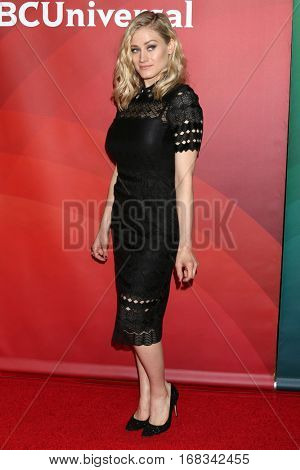 LOS ANGELES - JAN 17:  Olivia Taylor Dudley at the NBC/Universal Cable TCA Winter 2017 at Langham Hotel on January 17, 2017 in Pasadena, CA