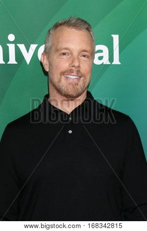 LOS ANGELES - JAN 17:  Gunner Peterson at the NBC/Universal Cable TCA Winter 2017 at Langham Hotel on January 17, 2017 in Pasadena, CA