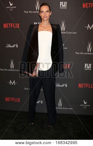 LOS ANGELES - JAN 8:  Masha Rudenko at the Weinstein And Netflix Golden Globes After Party at Beverly Hilton Hotel Adjacent on January 8, 2017 in Beverly Hills, CA