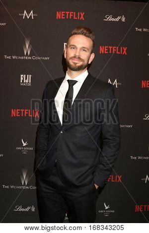 LOS ANGELES - JAN 8:  John Brotherton at the Weinstein And Netflix Golden Globes After Party at Beverly Hilton Hotel Adjacent on January 8, 2017 in Beverly Hills, CA
