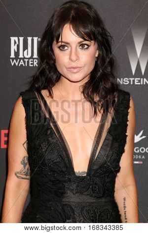 LOS ANGELES - JAN 8:  Sophia Amoruso at the Weinstein And Netflix Golden Globes After Party at Beverly Hilton Hotel Adjacent on January 8, 2017 in Beverly Hills, CA
