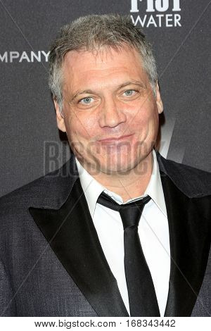 LOS ANGELES - JAN 8:  Holt McCallany at the Weinstein And Netflix Golden Globes After Party at Beverly Hilton Hotel Adjacent on January 8, 2017 in Beverly Hills, CA