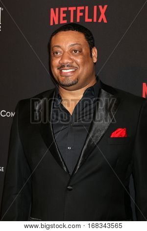 LOS ANGELES - JAN 8:  Cedric Yarbrough at the Weinstein And Netflix Golden Globes After Party at Beverly Hilton Hotel Adjacent on January 8, 2017 in Beverly Hills, CA