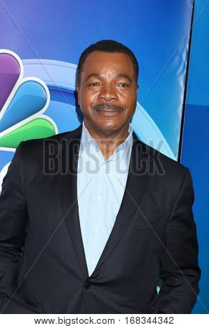 LOS ANGELES - JAN 18:  Carl Weathers at the NBC/Universal TCA Winter 2017 at Langham Hotel on January 18, 2017 in Pasadena, CA
