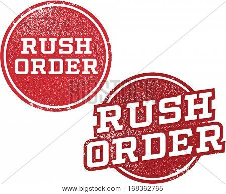 Rush Order Rubber Stamps
