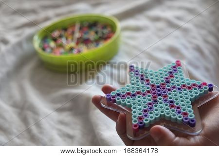 Beads used for crafts making art projects