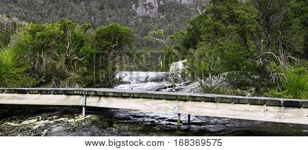 Lake Lilla In Cradle Mountain, Tasmania