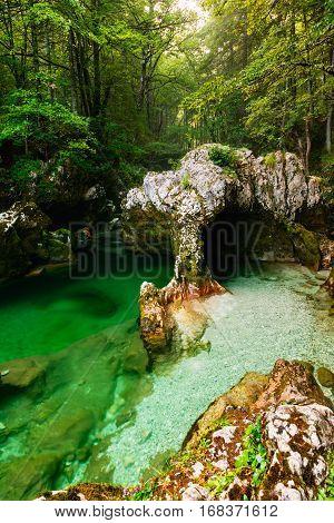 Mostnica Gorge, Bohinj, Slovenia
