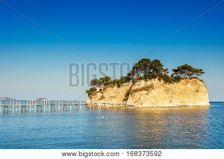 Agios Sostis small island in Greece Zakynthos
