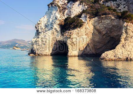 Beautiful Sea Landscapes On Zakynthos Island