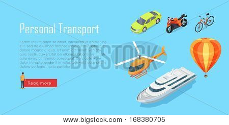 Transport infographic. Public transport. Plane. Bus. Trolleybus. Electric train. Metro train. Trum public transport. Statistics of transport usage. Transport system concept Vector