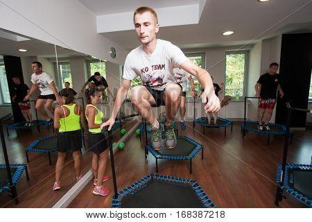 Fitness, Trampoline