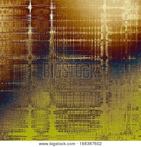 Scratched grunge background or spotted vintage texture. With different color patterns: yellow (beige); brown; blue; purple (violet); gray; white