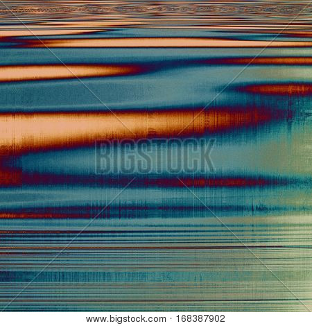 Distressed texture, faded grunge background or backdrop. With different color patterns: yellow (beige); brown; blue; red (orange); purple (violet); gray