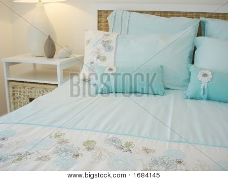 Beautiful Blue Bedroom
