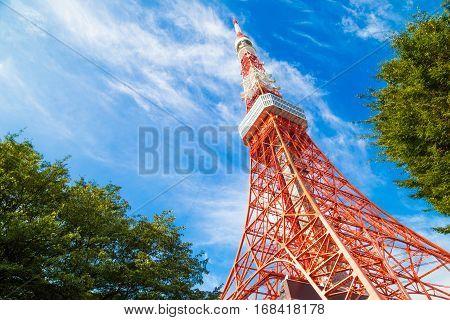 Tokyo City Skyline Redmodern  Architecture