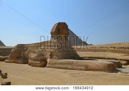 Beautiful Profile Of The Great Sphinx