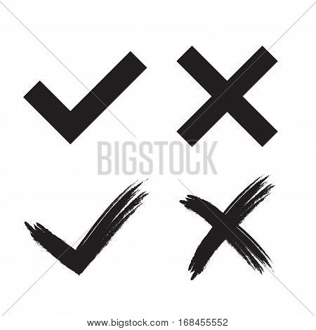 Tick Cross Mark Signs
