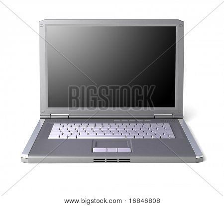 Binary map on laptop
