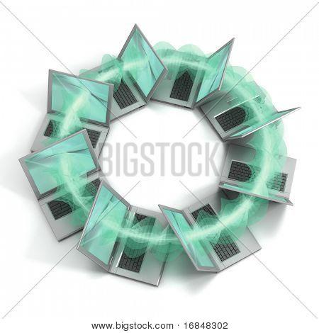 Laptop ring