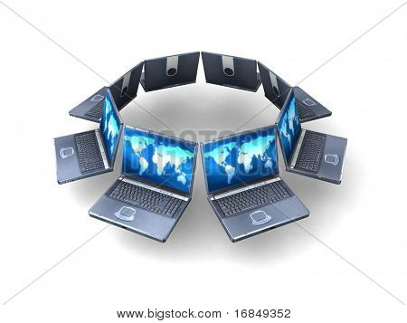 Laptop ring