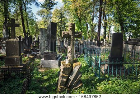 Old Graves In Lviv