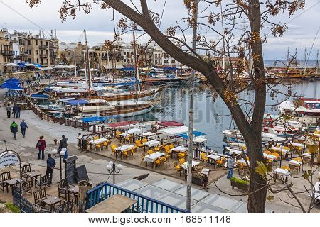 Kyrenia (girne) Old Harbour, Northern Cyprus