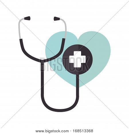 stethoscope medical isolated icon vector illustration design