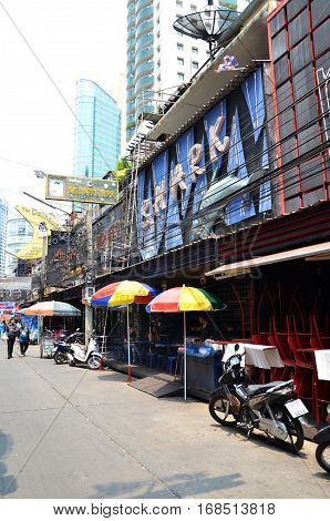 Soi Cowboy Entertainment Bazaar In Bangkok
