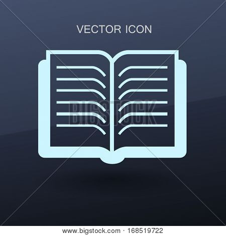 The litle book vector illustration