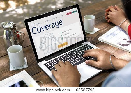 People Coverage Insurance Concept