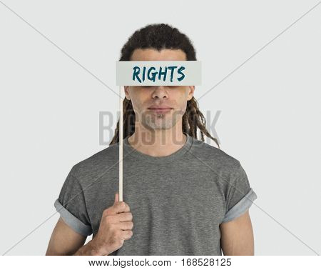 Human Rights Immunity Benefit Concept