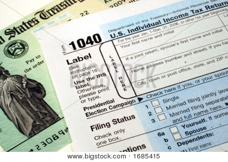 Tax Return & Refund Check