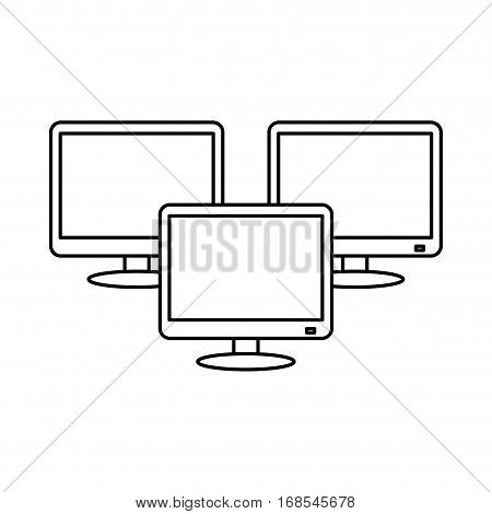 technical service computers icon, vetor illustration design