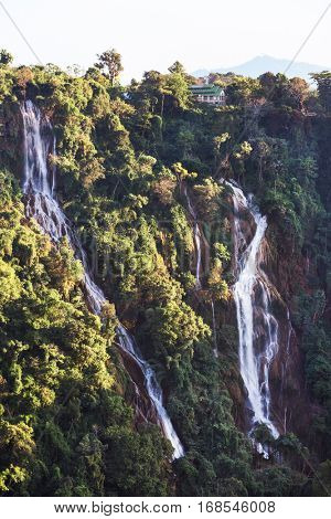 Dat Taw Gyaint Waterfall Anisakan Myanmar