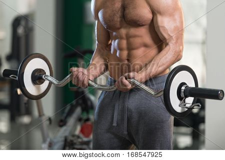 Biceps Exercise Close Up